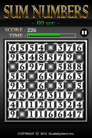 Sum Numbersのスクリーンショット_3