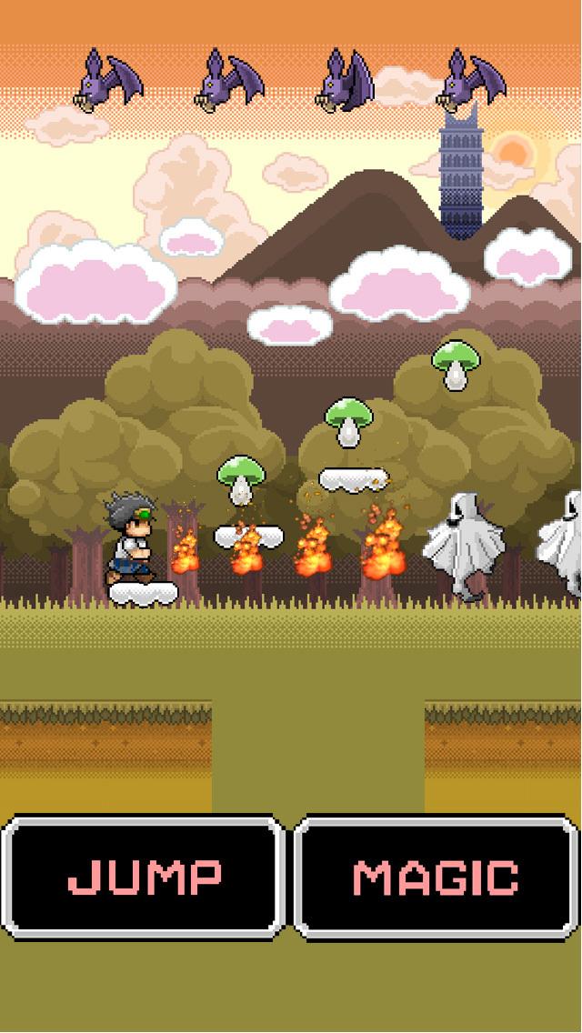 ニート勇者2/無料でピコピコ!ジャンプアクションのスクリーンショット_2