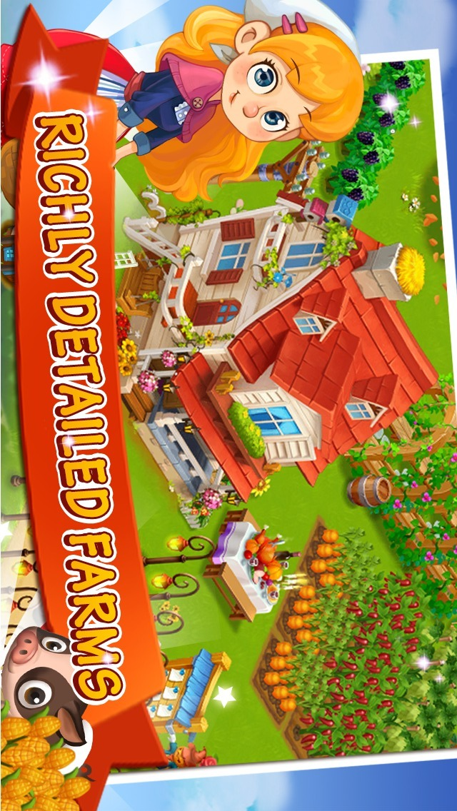 Happy Farm:Candy Dayのスクリーンショット_1