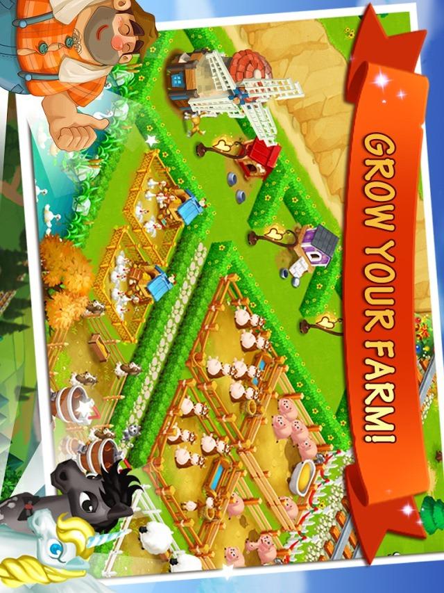 Happy Farm:Candy Dayのスクリーンショット_5