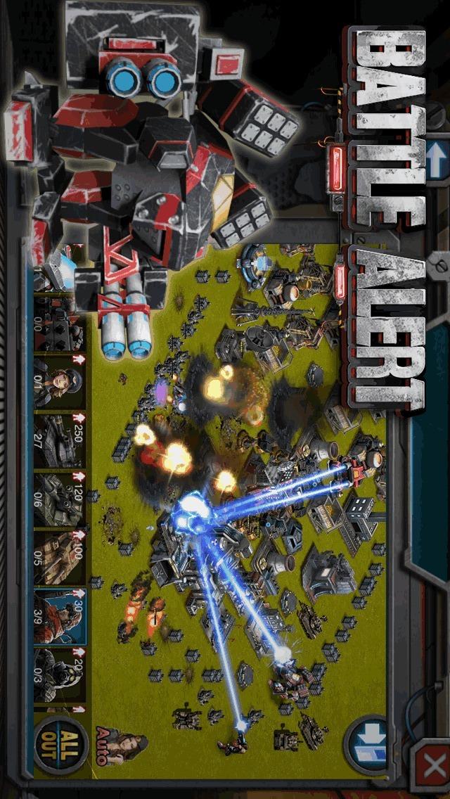 バトルアラート: War of Tankのスクリーンショット_4