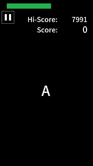 """A"" : カジュアルゲームのスクリーンショット_1"