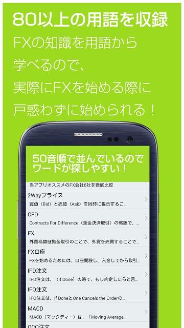 FX 用語集 for androidアプリ-初心者用FX解説のスクリーンショット_2