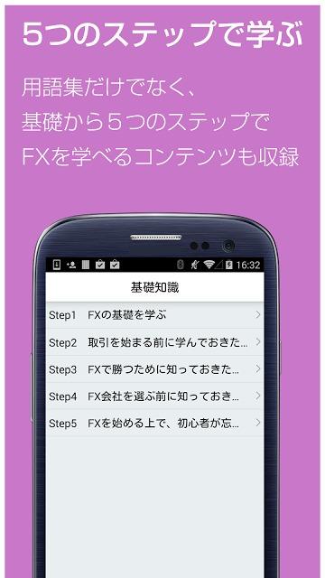 FX 用語集 for androidアプリ-初心者用FX解説のスクリーンショット_3