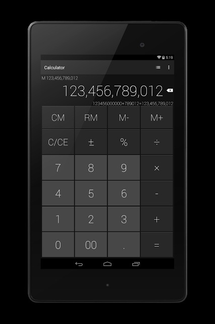 電卓 - シンプルでスタイリッシュな電卓のスクリーンショット_5