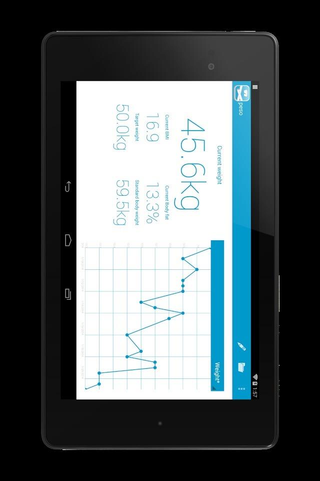 peso - ダイエット・体重管理のスクリーンショット_2