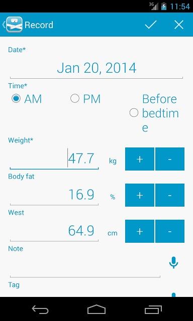 peso - ダイエット・体重管理のスクリーンショット_4