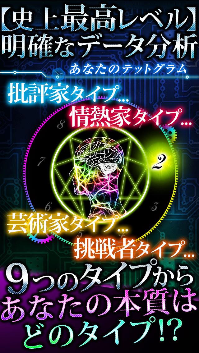 【神的中】高精度テットグラム数秘術占いのスクリーンショット_3