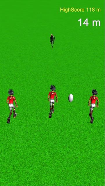 新感覚ラグビーアプリ RUNPASS レッツプレイランパスのスクリーンショット_1