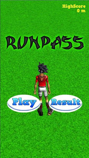 新感覚ラグビーアプリ RUNPASS レッツプレイランパスのスクリーンショット_2