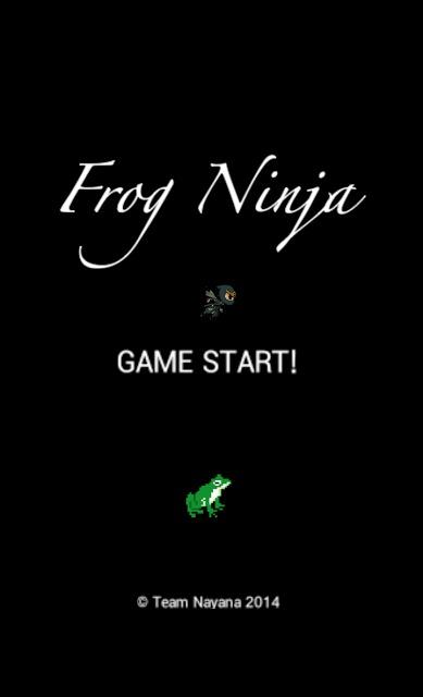 Frog Ninjaのスクリーンショット_1