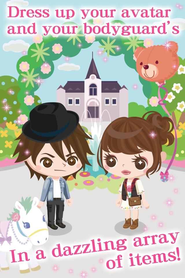 My Sweet Bodyguard for GREEのスクリーンショット_4