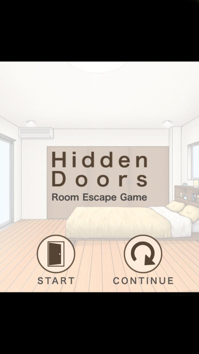脱出ゲーム Hidden Doorsのスクリーンショット_1