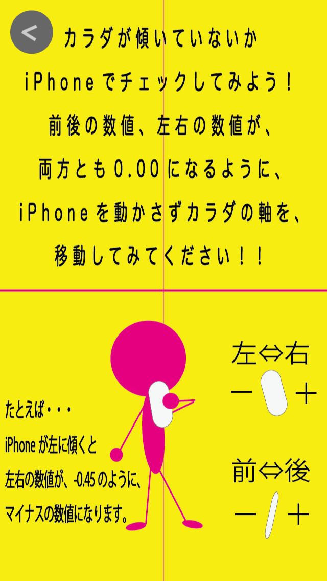 姿勢アプリ 〜14日サポート〜のスクリーンショット_3