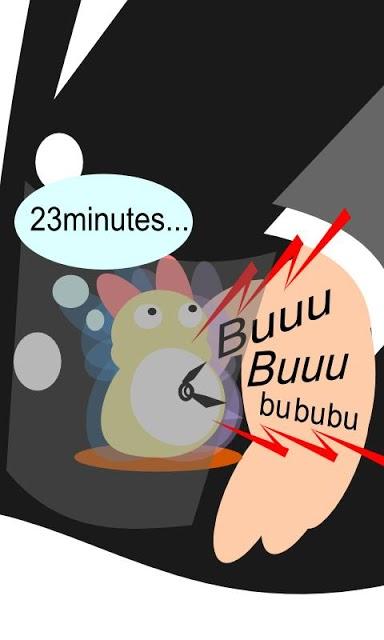 時間を体感! ブーブル☆CLOCK(時計)のスクリーンショット_1