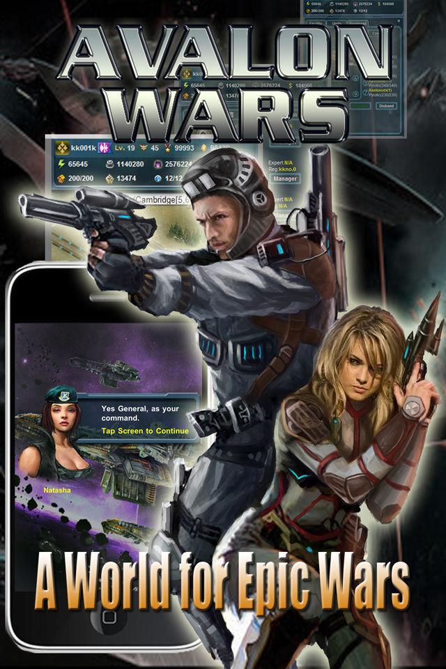 Avalon Warsのスクリーンショット_1