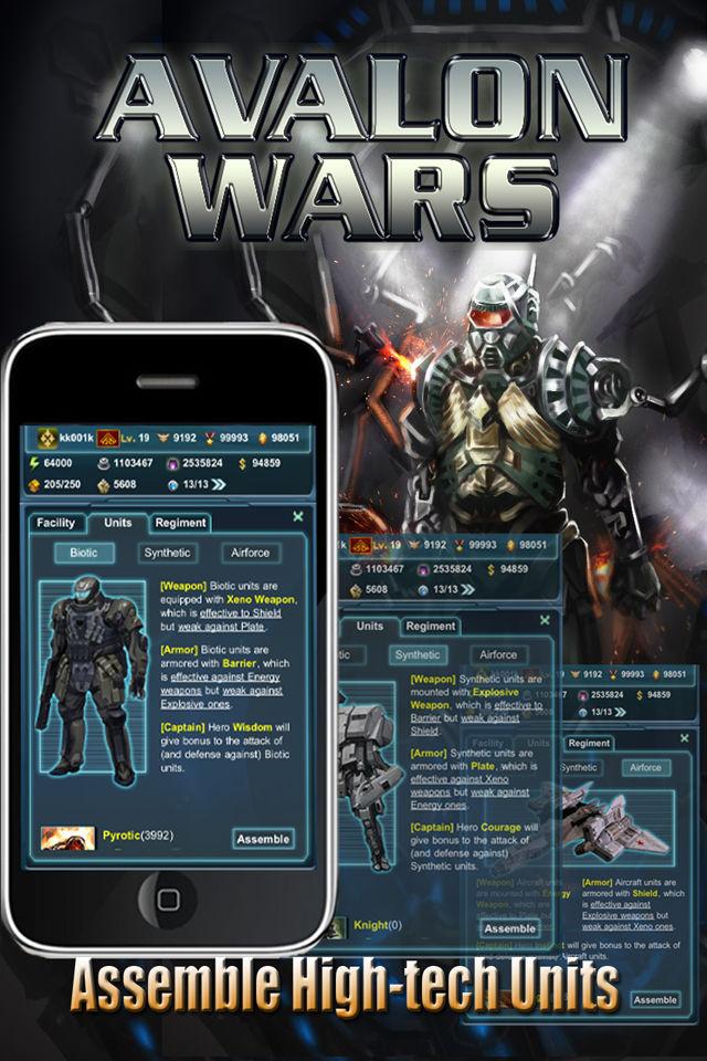 Avalon Warsのスクリーンショット_3
