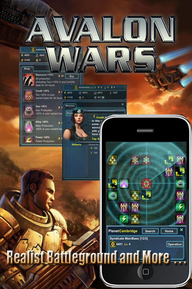 Avalon Warsのスクリーンショット_5