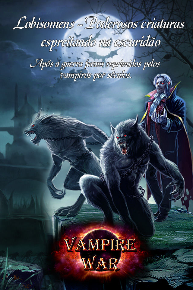 Vampire War - Portuguêsのスクリーンショット_2