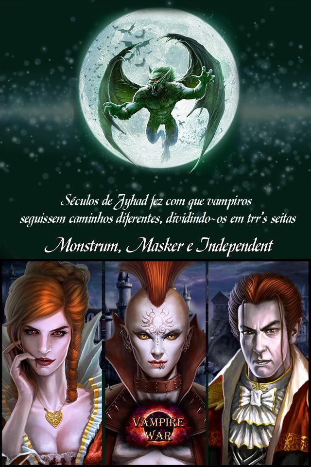 Vampire War - Portuguêsのスクリーンショット_3