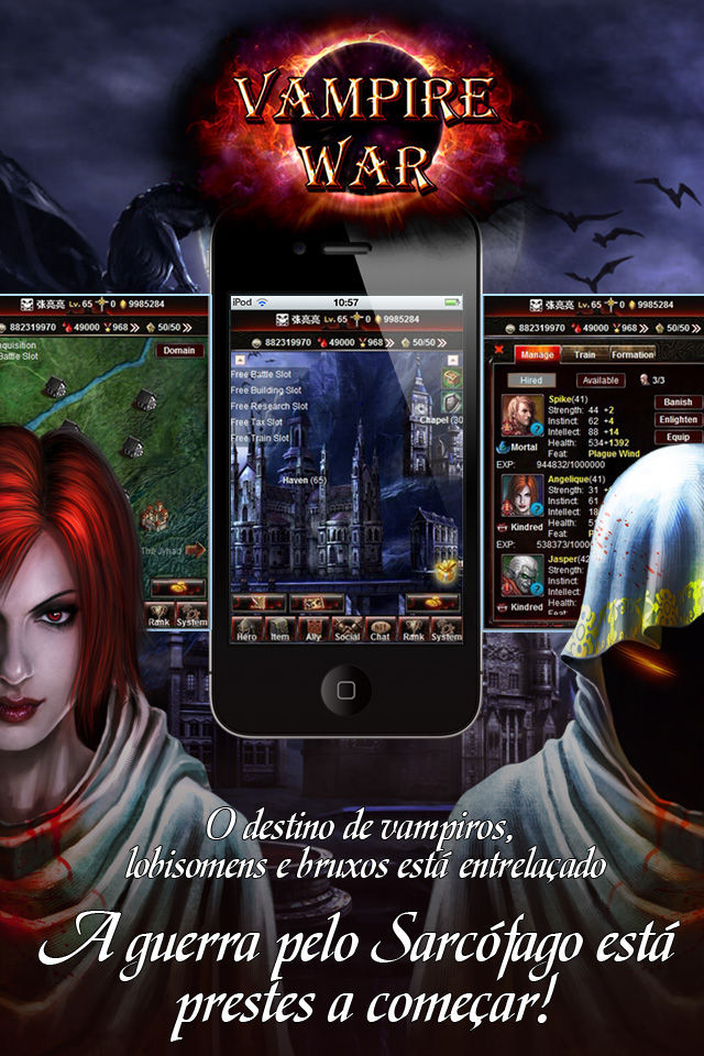 Vampire War - Portuguêsのスクリーンショット_5