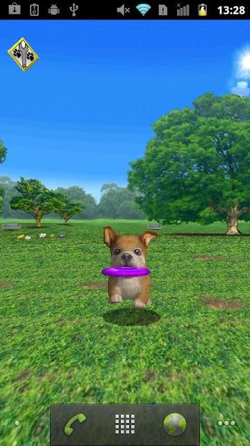 おでかけワンコ ライブ壁紙 無料版(かわいい犬ペット!)のスクリーンショット_3