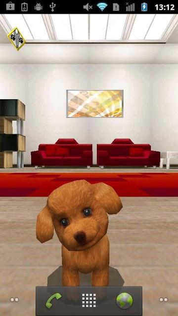 おでかけワンコ ライブ壁紙 無料版(かわいい犬ペット!)のスクリーンショット_4