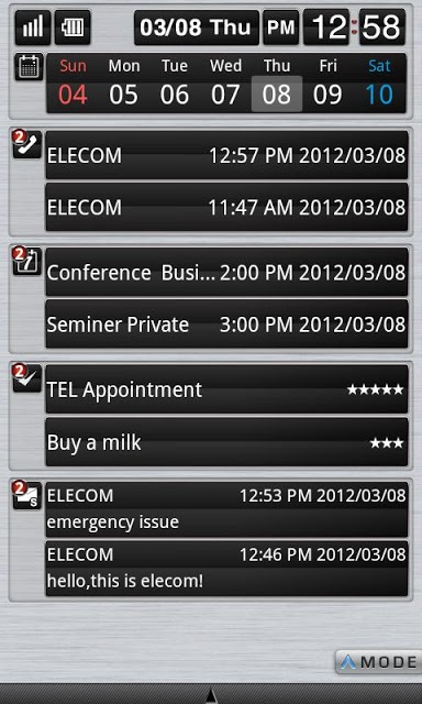 ELECOM bizSwiper Air Portのスクリーンショット_1
