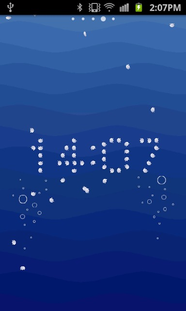 UO clock : jellyfishのスクリーンショット_1