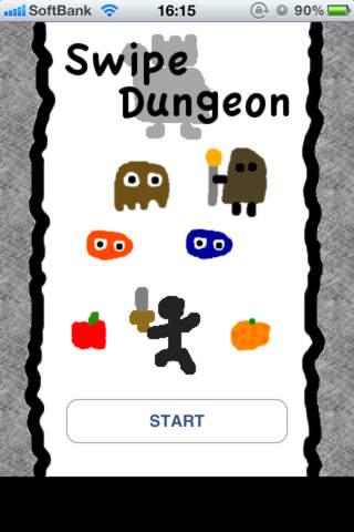 スワイプ ダンジョン -Swipe Dungeon-のスクリーンショット_1