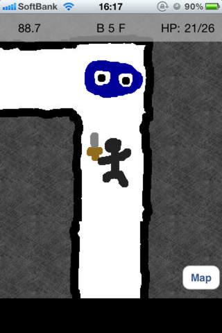 スワイプ ダンジョン -Swipe Dungeon-のスクリーンショット_2