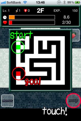 スワイプダンジョン2のスクリーンショット_2