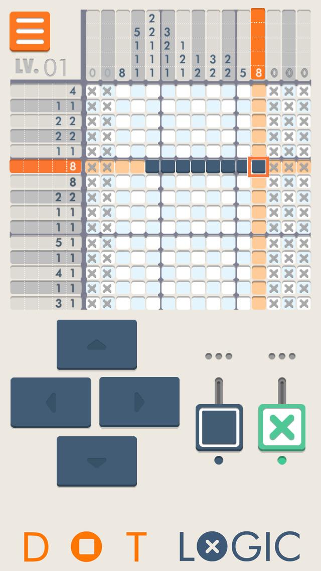 Dot Logic 無料のイラストパズル脳トレゲームのスクリーンショット_3