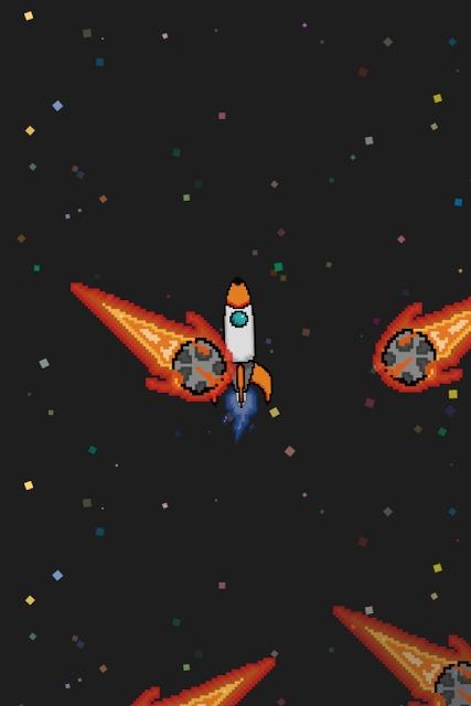 ゴーゴーロケット - 宇宙的激ムズ即死ゲーのスクリーンショット_2