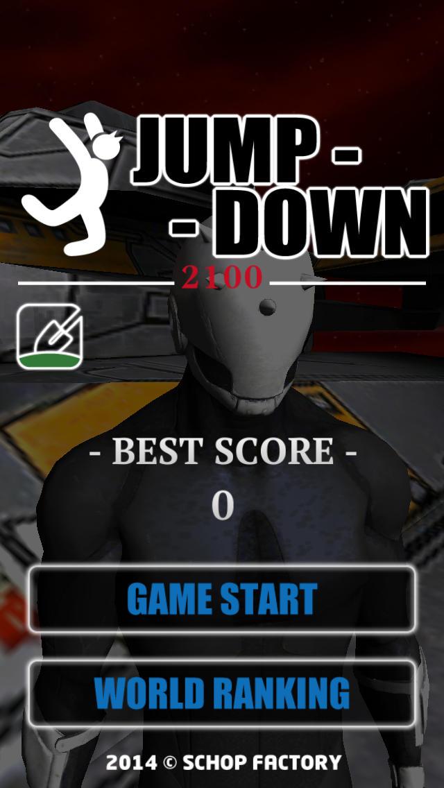 JumpDown 2100のスクリーンショット_1