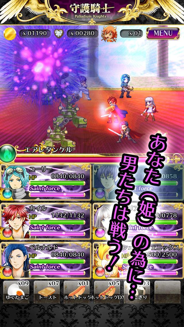Palladium Knights~守護騎士~のスクリーンショット_2