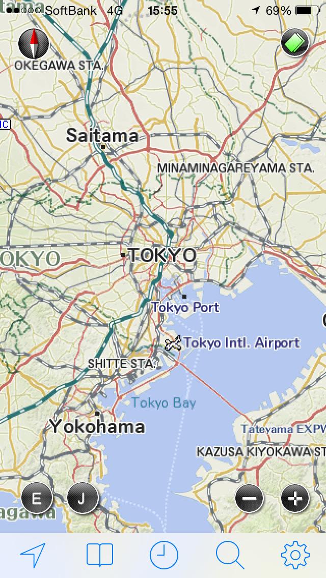 JAPAN MAP -by いつもNAVI-のスクリーンショット_1