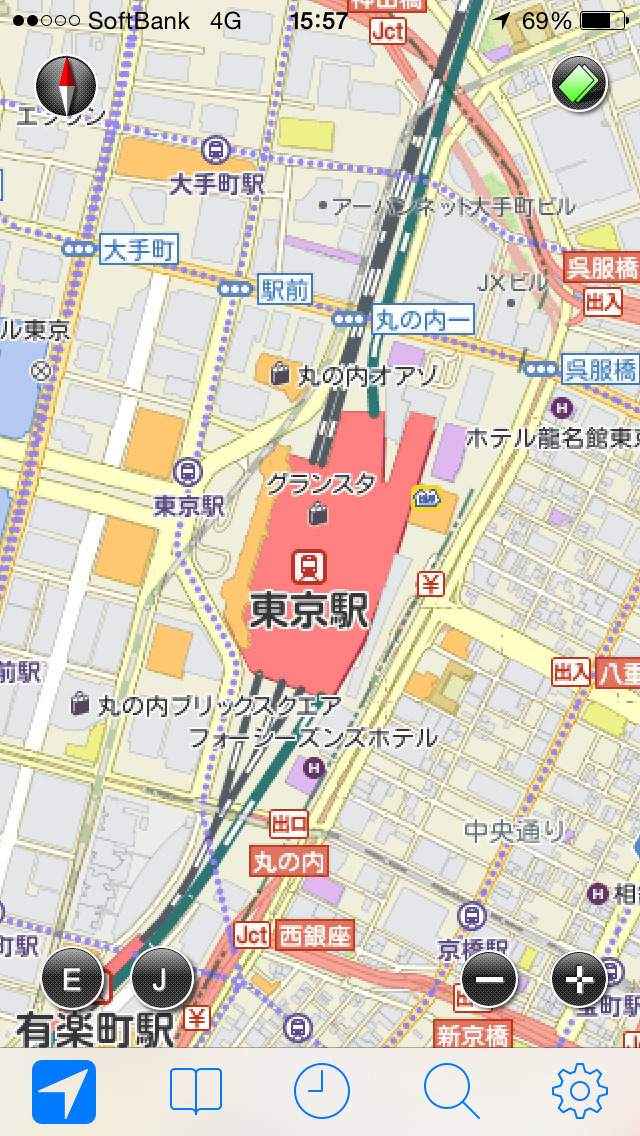 JAPAN MAP -by いつもNAVI-のスクリーンショット_5