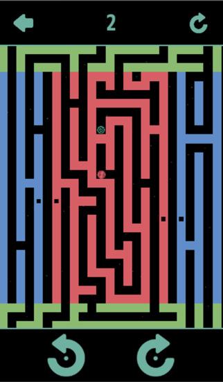重力迷路のスクリーンショット_3