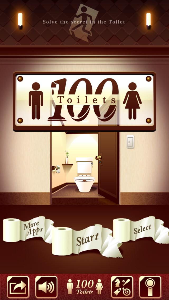 """脱出ゲーム """"100 Toilets""""のスクリーンショット_5"""