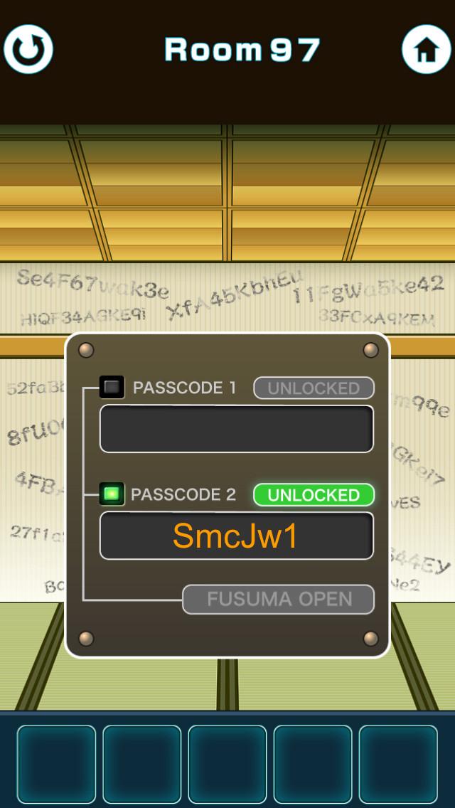 """脱出ゲーム """"100 Fusumas""""のスクリーンショット_4"""