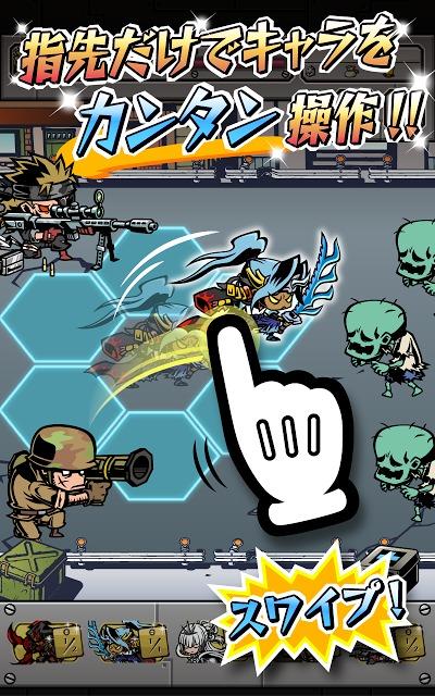 ガチャウォリアーズX新感覚タワーディフェンスアクションゲームのスクリーンショット_2