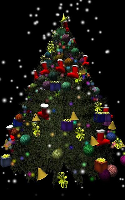 3Dクリスマスツリーのスクリーンショット_1
