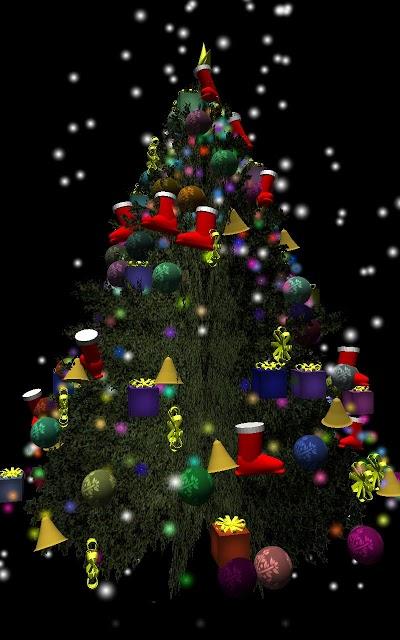 3Dクリスマスツリーのスクリーンショット_2