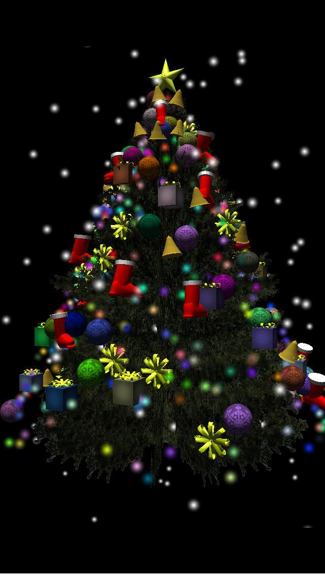 3D Xmas Treeのスクリーンショット_2