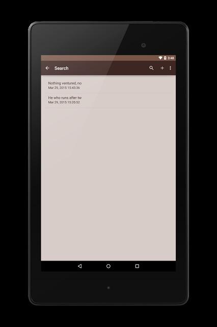メモ帳 - シンプルでスタイリッシュなメモ帳のスクリーンショット_3