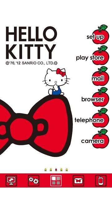 [ハローキティ]キャラクターホームテーマ(kit001)のスクリーンショット_2