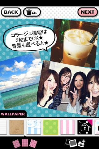 Decola Girl -かわいくアレンジ◎写真加工アプリ-のスクリーンショット_2