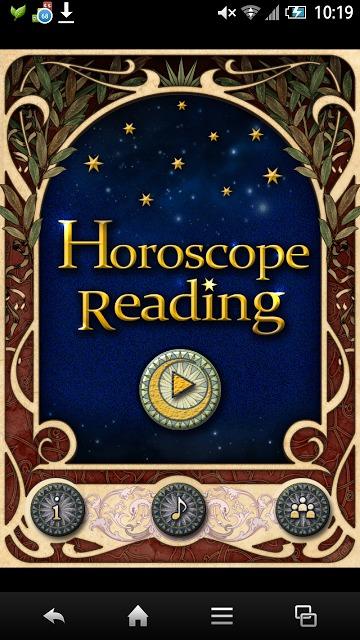 Horoscope Readingホロスコープで毎日占う運勢のスクリーンショット_1
