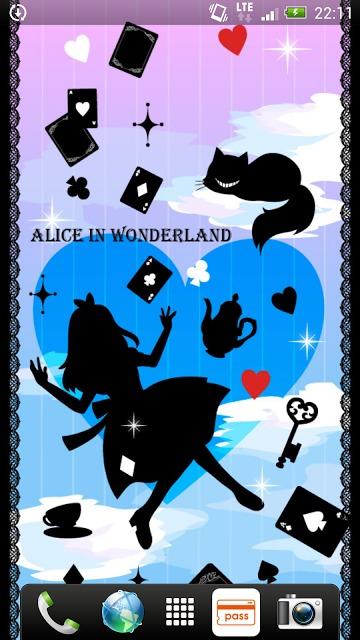Aliceシリーズ☆ シルエット ライブ壁紙のスクリーンショット_1